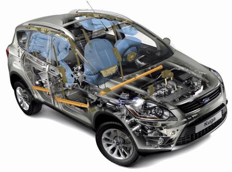Купить кузовные запчасти для автомобиля марки «Форд»