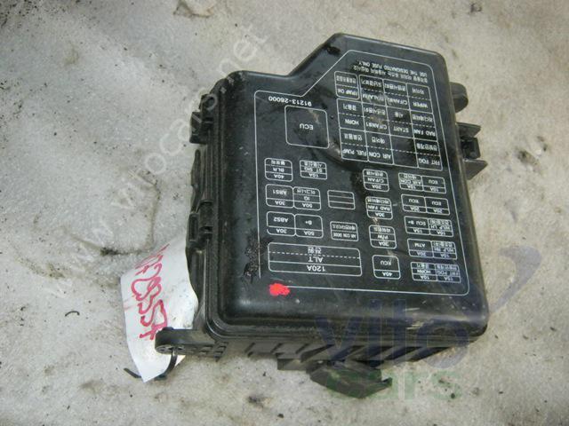 Блок предохранителей Hyundai Santa Fe 1 (SM) (с разборки) .
