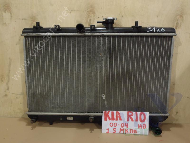 Радиатор на киа рио 2013