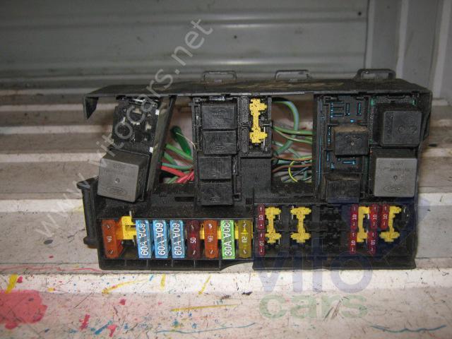 Блок предохранителей Ford Focus 1 (с разборки) .