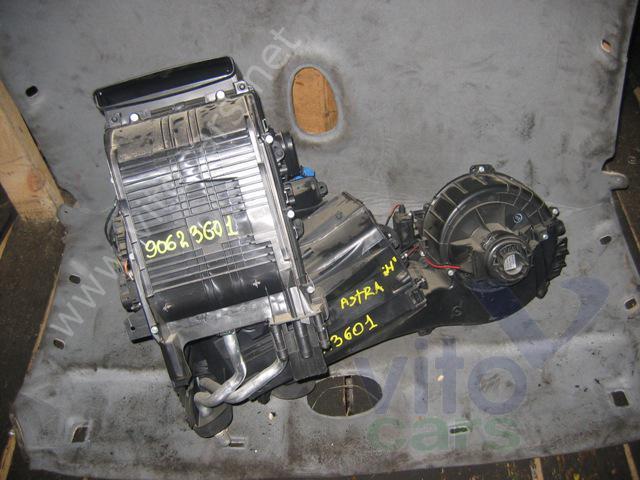 Корпус отопителя (корпус печки) Opel Astra H (с разборки) .