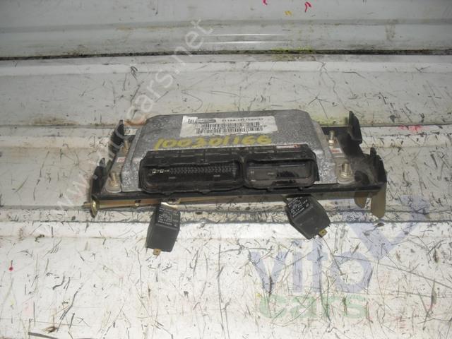 Блок управления двигателем VAZ 2112 (с разборки) .