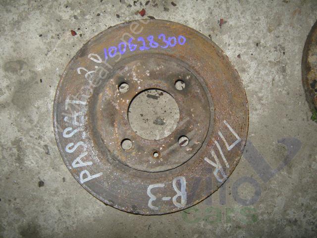Диск тормозной передний VOLKSWAGEN Passat B3 (с разборки) .