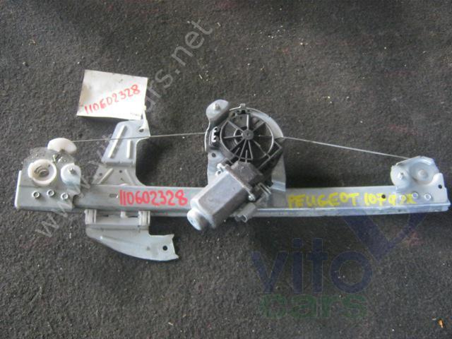 Стеклоподъёмник электрический передний правый Peugeot 107 (с разборки) .