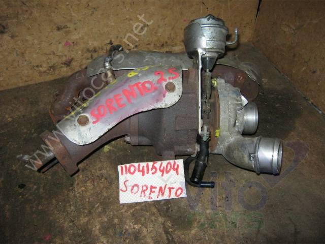 Киа соренто 25 дизель ремонт турбины своими руками